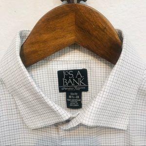 Jos A Bank Dress Shirt - Egyptian Cotton - Medium